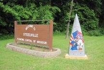 Camp Missouri...visit the PARKS&RIVERS / by Allison Altmann