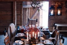 Nordic House - Table Styling / Set the tone by setting the table......