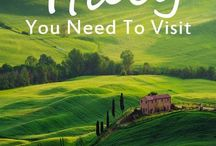 Places to go / Amazing places to go on holiday or stay