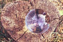 Mi bolita de cristal - Fotografia conceptual