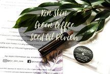 Facial Oil Reviews | My Skincare Reality / Reviews of Skincare Facial Oils Including a variety of facial oils and oil serums for variety of skin types.