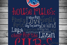 Chicago Cubs (wo) Man Caves and Rooms / Chicago Cubs (wo) Man Caves and Room Pictures, Ideas, & Products