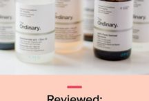 The best serum for every occasion / Serums for every skin concern and skin type: mature, acne-prone, dry, dehydrated or oily