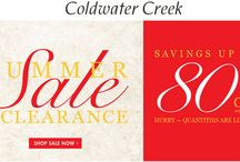"""Coldwater Creek Coupon CodesColdwater Creek Coupon Codes / Coldwater Creek was launched in 1984 as a catalog business with the promise of bringing customers """"beautiful, unexpected, and extraordinary things"""". 30 years have passed since then and we make the same promise today.For coupon and deals visit: http://www.couponcutcode.com/stores/coldwater-creek/"""