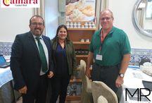 Misión Comercial Inversa con EEUU / Del 29 de septiembre al 1 de Octubre tuvo lugar en el Parador Nacional de Almagro (Ciudad Real) una misión comercial inversa con EEUU, y organizado por la Cámara de Comercio de Ciudad Real.  Un punto de encuentro entre productores nacionales e importadores de EEUU.
