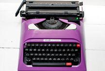 Purple Typewriters & Sewing Machines & Accessories