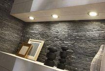 Plaquettes de parement / Plaquettes de parement, nos idées déco pour embellir votre intérieur. #homedesign #mur #intérieur