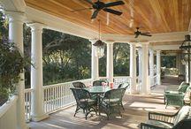 Home Design Ideas - Outdoor & Garden / Front Porch designs and decor, back porch, yard and garden ideas, pool plans, etc.