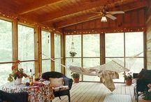Covered Porch Ideas / by Leslie Copp