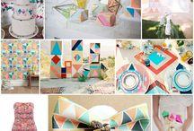 'Geometrical' Weddings