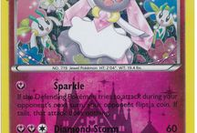 Diancie / Diancie (Japanese: ディアンシー Diancie) is a dual-type Rock/Fairy Mythical Pokemon. While it is not known to evolve into or from any other Pokémon, Diancie can Mega Evolve into Mega Diancie using the Diancite. Diancie was officially revealed in the March 2014 issue of CoroCoro magazine.