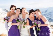 Beautiful bridesmaids / Whether she's your sister, been your best friend since kindergarten or a new-ish mate from work, you want these special girlfriends at your side at this important milestone in your life.  What a blast you'll have!!