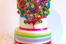 Quilling cakes
