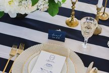Wedding Inspiration - Let's Tie the Knot / Nautical Wedding style inspiration.