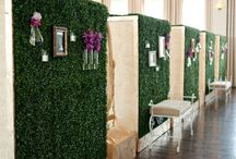 Architectural elements / Add a unique architectural element to your next event to divide up a large space or create an intimate focal point