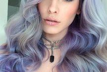 metalické hair