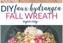 How To | DIY Wreaths / Wreaths to brighten the front door or hang on the wall for all seasons.