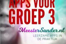 Apps voor groep 3