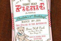 Carli's 6th teddy bear picnic bday