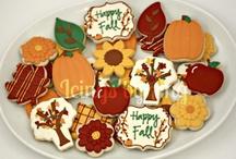 Cookies - Thanksgiving / Halloween / Fall / by Tara Breitner Lethbridge