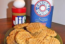 3 Ingred. peanut butter cookies