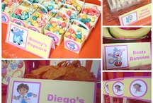 diego/dora bday party