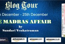 The Madras Affair by Sundari Venkatraman / https://www.goodreads.com/book/show/26008169-the-madras-affair