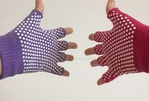 Yoga Gloves (non-slip!) / Non-slip yoga gloves for a slip-free yoga practice!