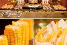 Food Cake Weddings / ideas de menús y pasteles