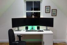 quarto ambiente trabalho
