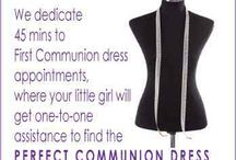 Communion Dress Fitting Appointment