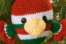 Crochet Christmas Ornaments / These are ALL free patterns! / by Alice Duhon