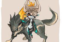 Midna & Wolf Link