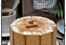 tarta de queso y canela