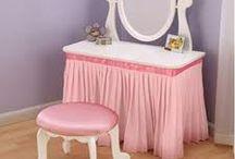 Vanity ideas for Laila's room