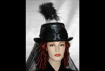 Gothic Victorian & Edwardian Hats