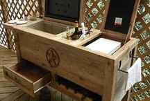 Wooden Ice Box Cooler...