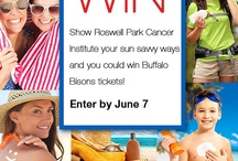 Sun Safety Pledge / Take a pledge to prevent skin cancer and pin your favorite sun safety habits. / by Roswell Park