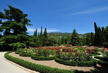 Сады,парки,клумбы,лужайки