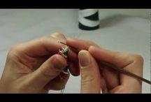 biżuteria na szydełku