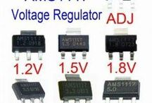 smd voltage regülatör entegreleri ve devreleri
