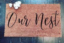 Nesting home / Ideas, DIY, decor toe create the perfect home