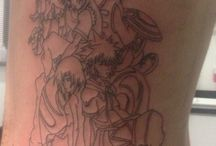 Kingdom Hearts / Ribs hurt like a bitch but so happy can't wait to finish it full colour :)