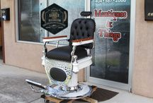 Theo A. Kochs Barber Chairs