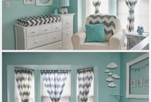 Baby boy room colors