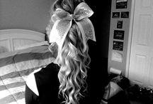 Cheer Hair  / by Brianna Nichole