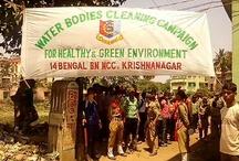 Social service 14 Bengal NCC