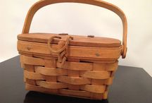Baskets / Collection of different types of baskets