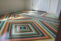 Floors / Podlahy / www.interierdesignskola.cz
