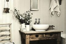 Farm style bathroom